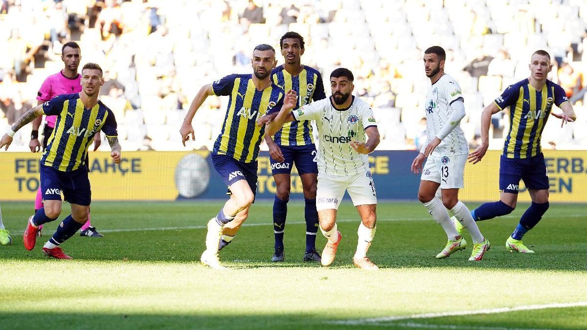 Fenerbahçe Kasımpaşa'yı geçti, koltuğu geri aldı