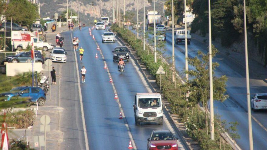 Bodrum Yarı Maratonu'na yoğun ilgi