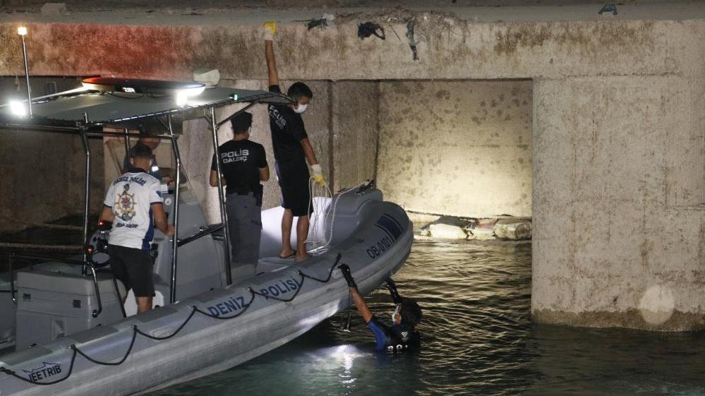 Seyhan Baraj Gölü regülatör kapaklarında ceset bulundu