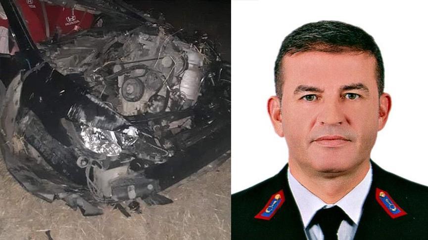 Karakol komutanı trafik kazası kurbanı