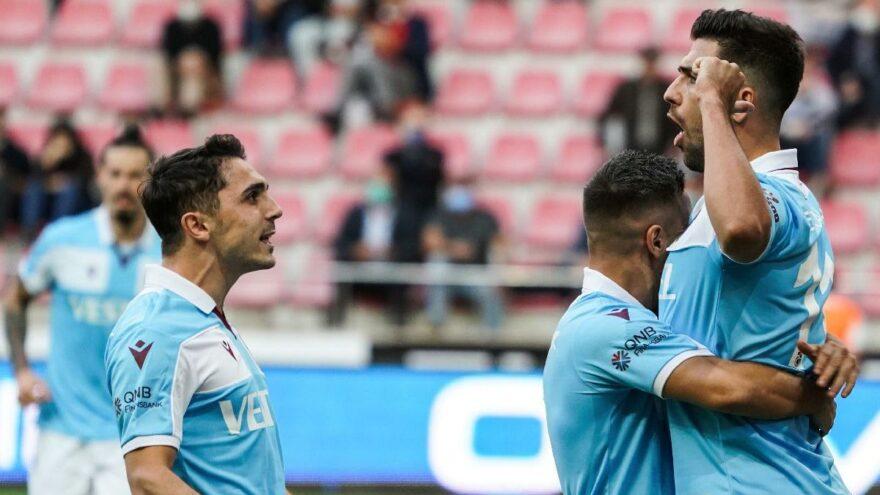 Süper Lig'de 203 gündür kaybetmeyen Trabzonspor, deplasmanda ise 343 gündür yenilmiyor