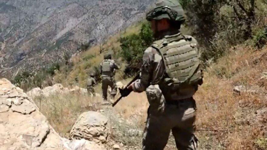 PKK'nın doğu karargahı ele geçirildi; 12 terörist etkisiz