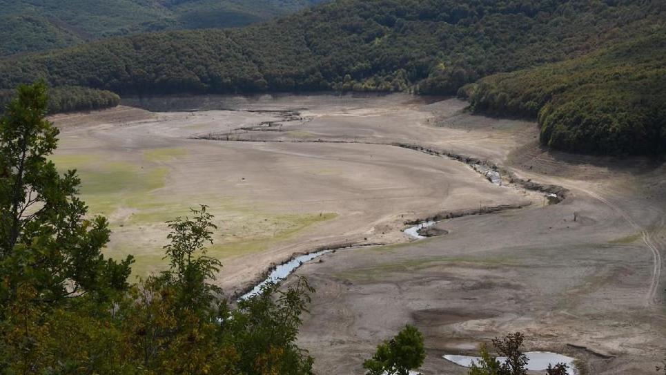 Trakya'da, İstanbul'un suyunu karşılayan barajlar kurudu
