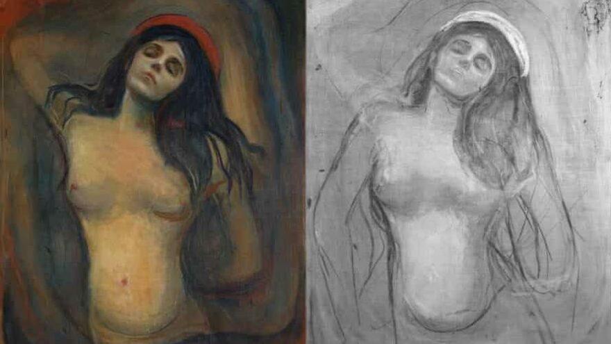 Kızılötesi tarama ile Munch'ün metodunu çözdüler