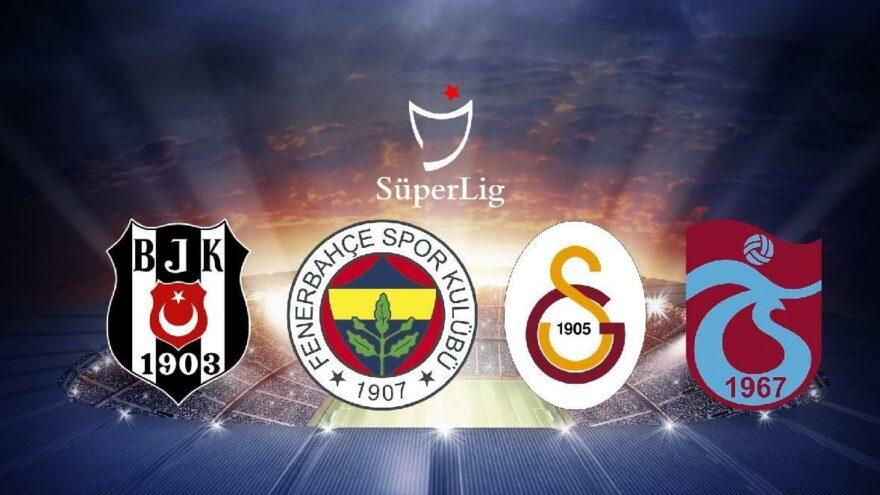 Süper Lig'de şampiyonluk oranları (4.10.2021)