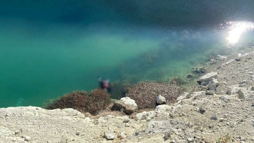 Baraj göletinde dehşet! Vatandaşlar fark etti