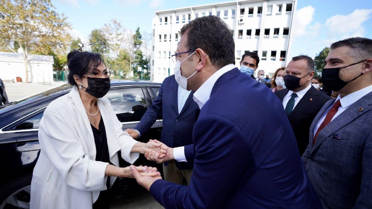 Türkan Şoray'dan İmamoğlu'na teşekkür
