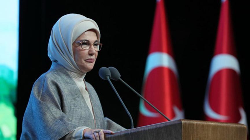 Emine Erdoğan: Bilinçsiz adımlar çevre felaketini kaçınılmaz kılıyor