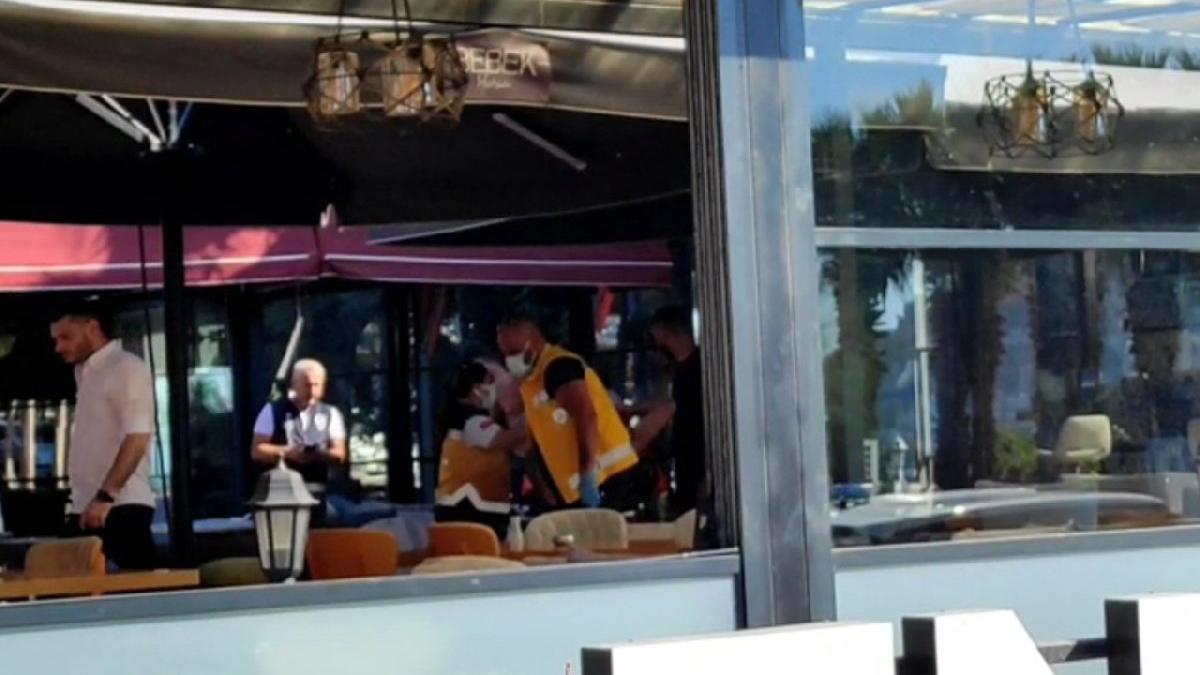 Kafe ortakları arasında silahlı kavga