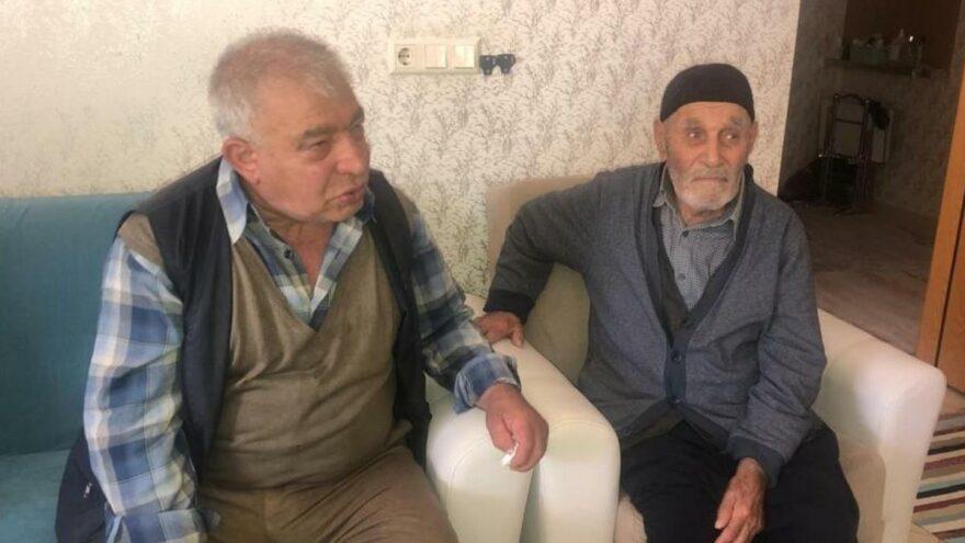 40 yıldır kayıp olan oğluna 107 yaşında kavuştu
