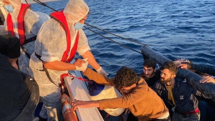 Aydın'da 67 düzensiz göçmen kurtarıldı