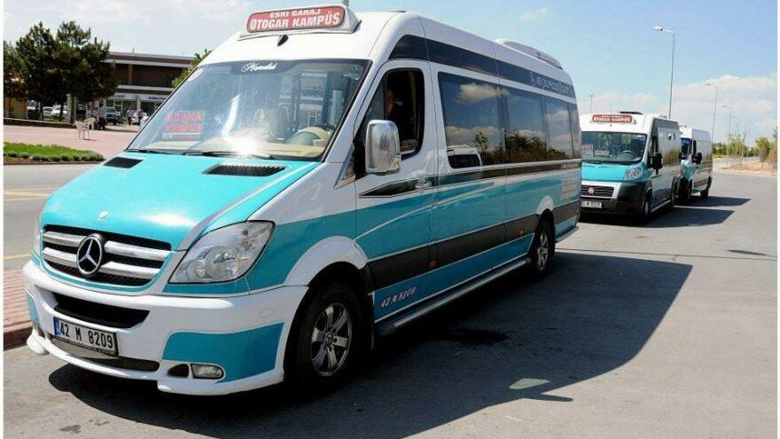 Konya'da ekmekten sonra minibüs yolcu ücretlerine de zam