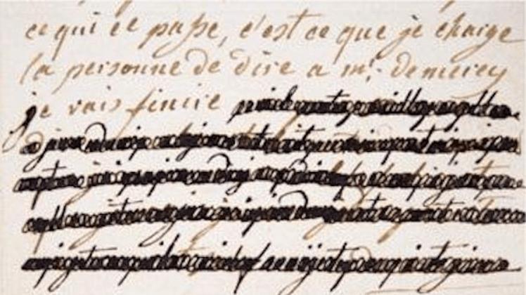 Marie Antoinette'in gizli aşk mektupları X-Ray teknolojisiyle ortaya çıktı