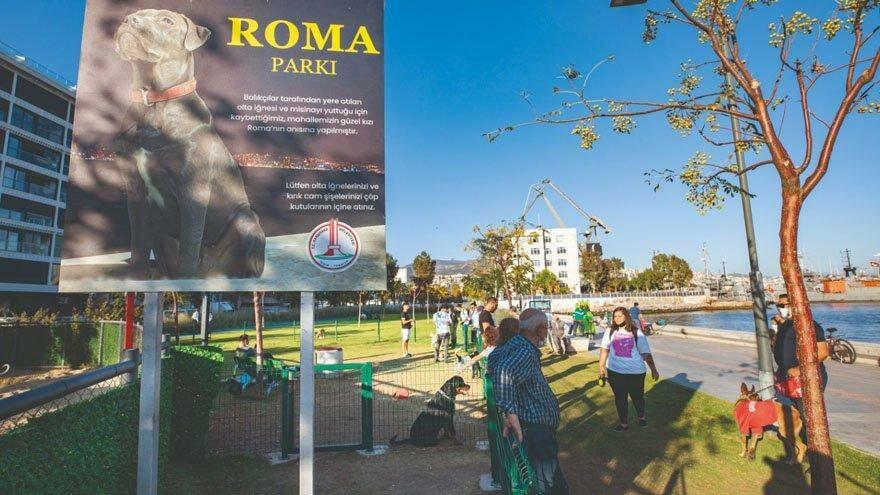Roma'nın adı o parkta yaşayacak