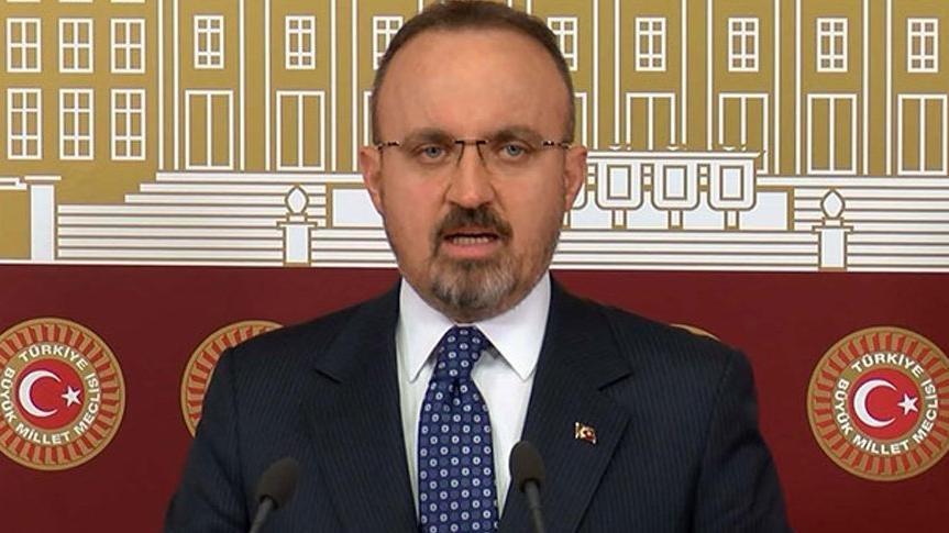 AKP'li Turan: Parlamenter sistem çalışması siyasi irtica faaliyeti