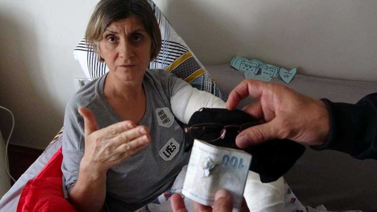 Eski kocasının silahlı pusu kurduğu kadın, dehşet anlarını anlattı