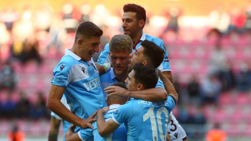 Trabzonspor'da savunma ve hücum kusursuz
