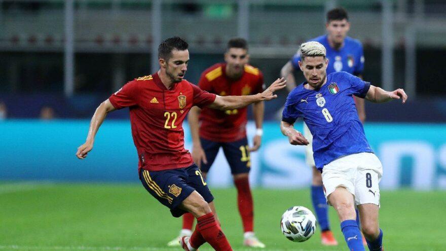 İtalya İspanya maçında üç gol bir kırmızı kart! İlk finalist belli oldu