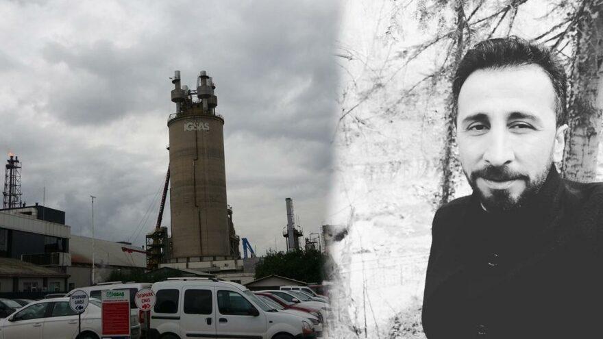 İzni olmayan alana giren işçi gaz sızıntısında hayatını kaybetti