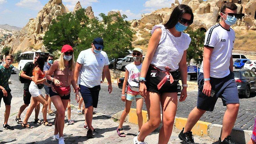 Kapadokya'ya eylülde 358 bin193 ziyaretçi