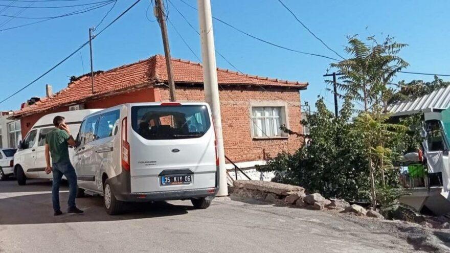 İzmir'de vahşet: 96 yaşındaki annesini başını taşla ezerek öldürdü