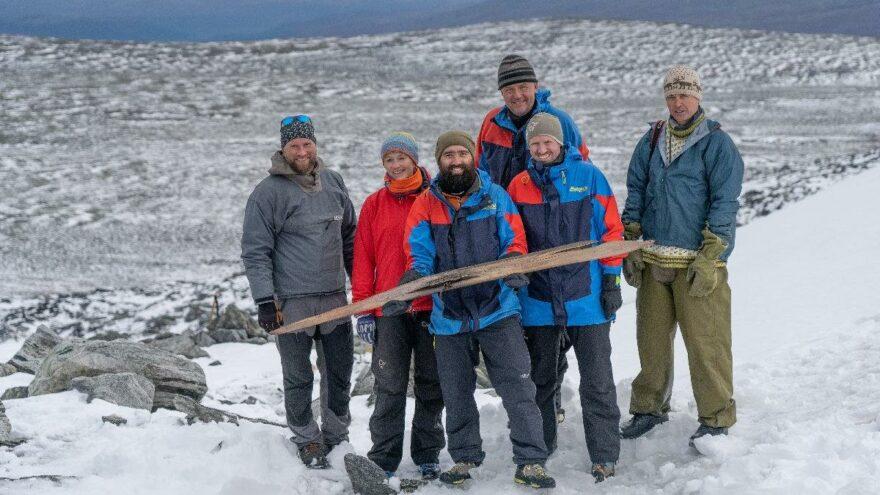 Norveç'te en eski kayak tahtası bulundu