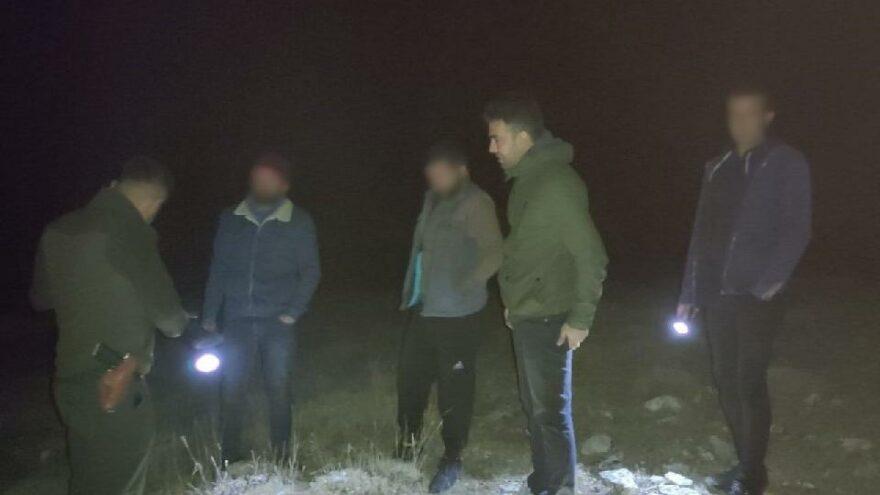 Projektörle yasadışı av yapan 3 kişiye 12 bin lira ceza