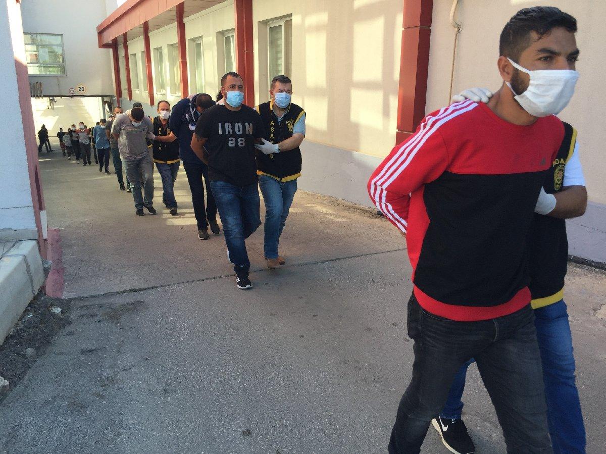 600 bin liralık hırsızlık yapan çeteye şafak operasyonu – Sözcü Gazetesi