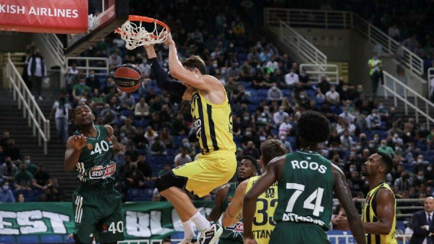 Fenerbahçe Beko, Panathinaikos'a son saniyelerde teslim oldu