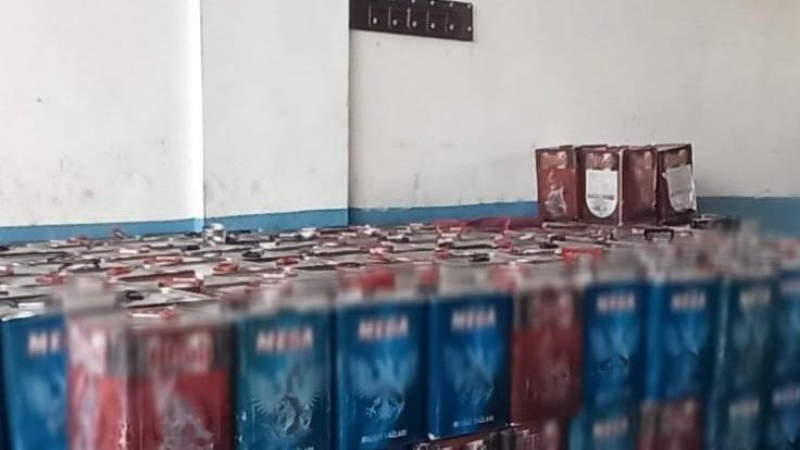 Kaçakçılara suçüstü: 5 bin 930 litre kaçak akaryakıt ele geçirildi