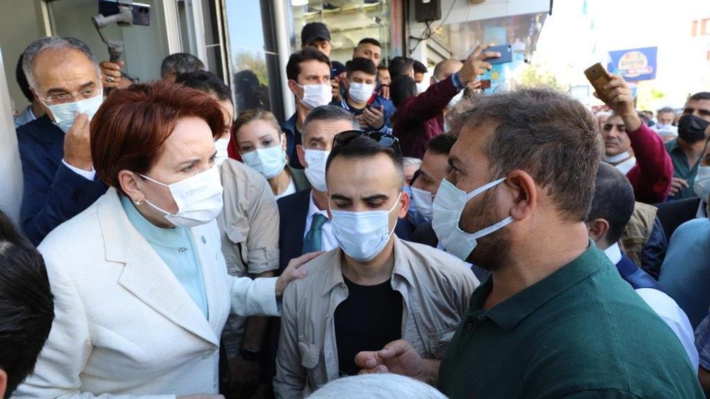 İYİ Parti lideri Akşener AKP'nin kalesinde bir dokundu, bin ah işitti