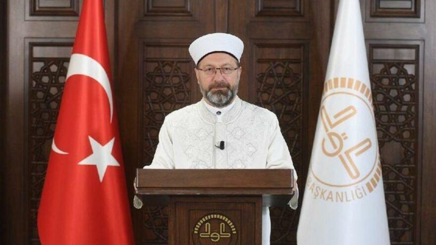 Diyanet İşleri Başkanı Erbaş: Camilerin inşasında israfa asla tahammülümüz yoktur