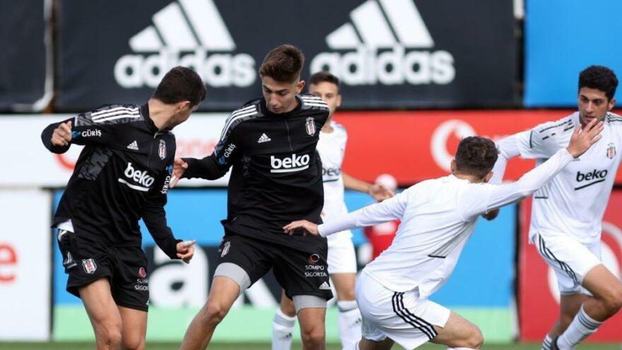 Beşiktaş, U-19 Akademi Takımı ile antrenman maçı yaptı