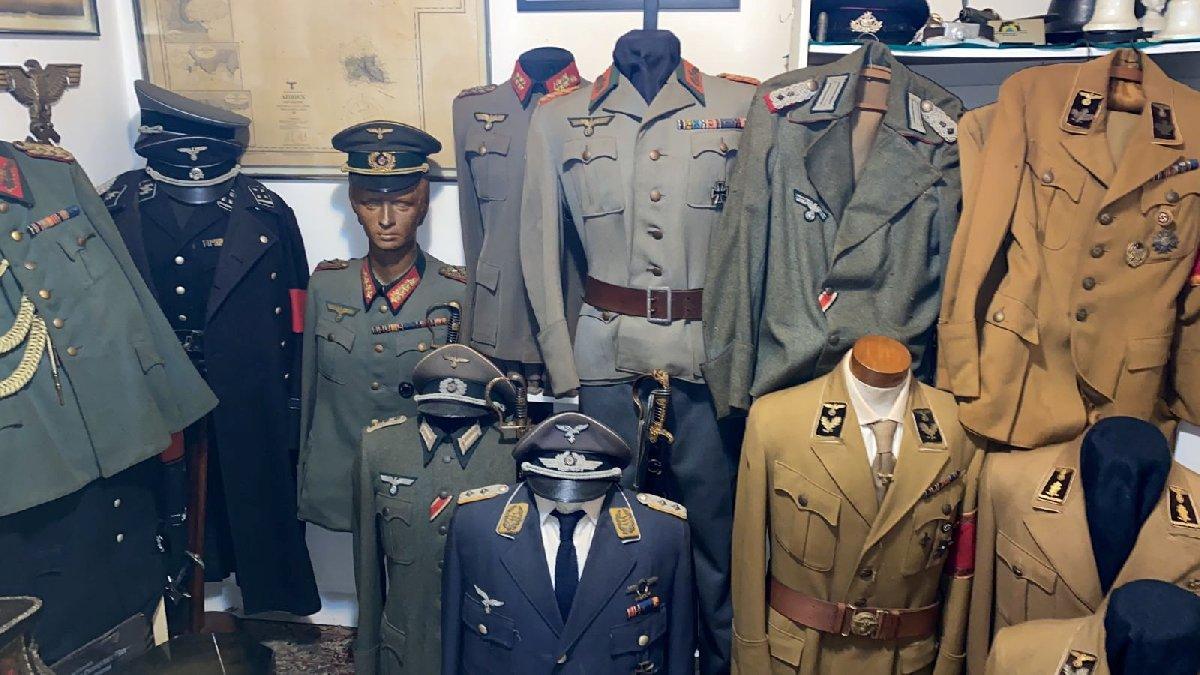 Polisi bile şaşkına uğrattı! Cinsel saldırıdan aranıyordu... Evinden 30 milyon TL'lik Nazi koleksiyonu çıktı