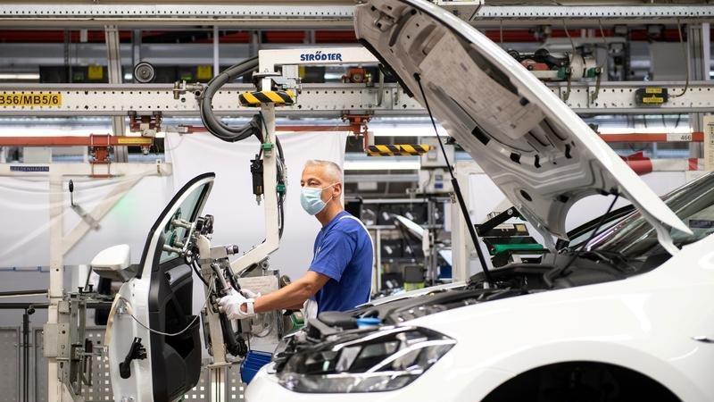 Almanya'da sanayi üretiminde sert düşüş