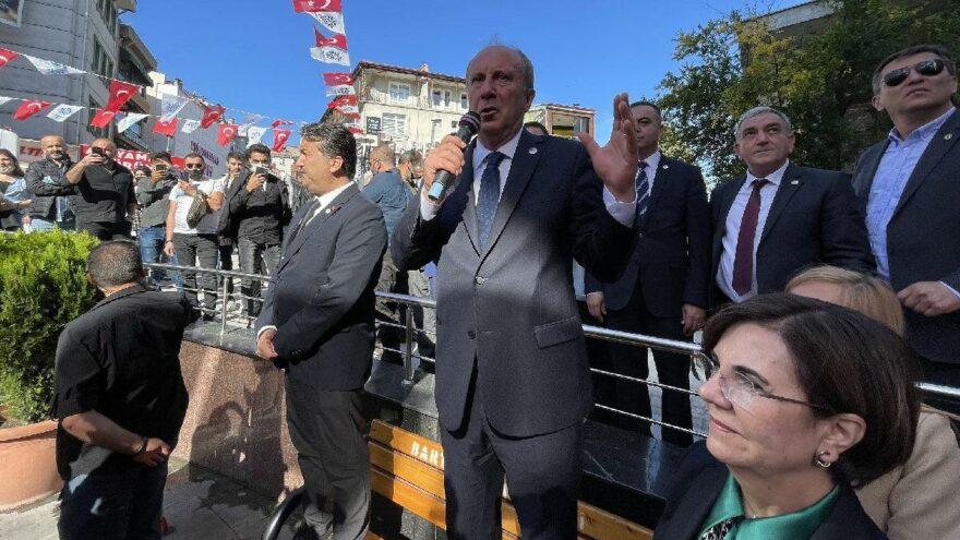 Muharrem İnce: Her parti kendi adayını göstermeli
