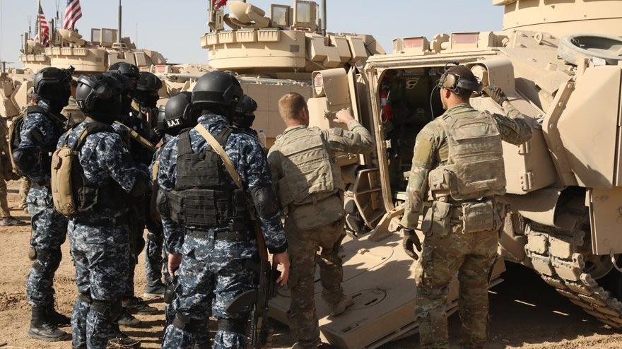 ABD'den teröristlere havan ve zırhlı eğitimi