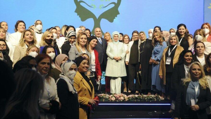 Emine Erdoğan: Kadın girişimciliğin desteklenmesi umut verici