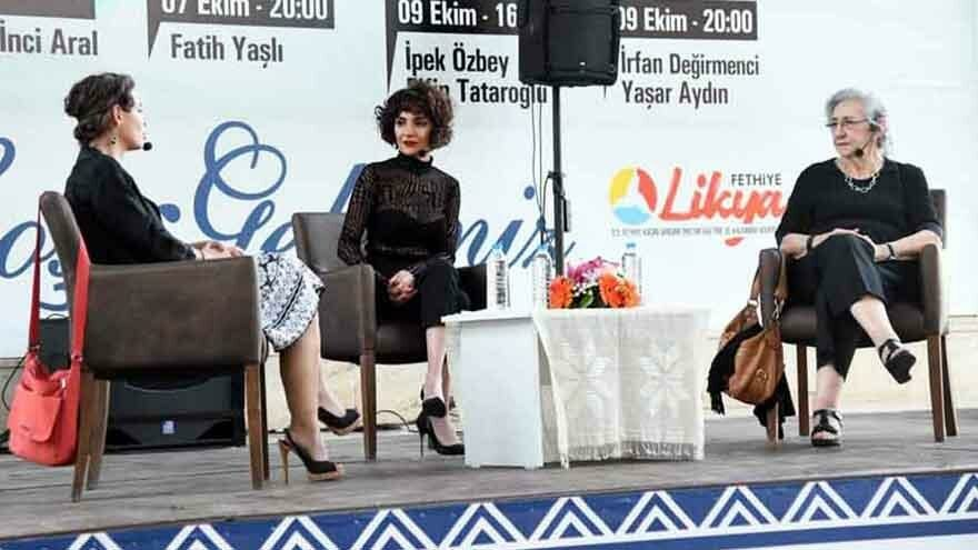 Muğla'da yazar kadınlar okuyucularıyla buluştu
