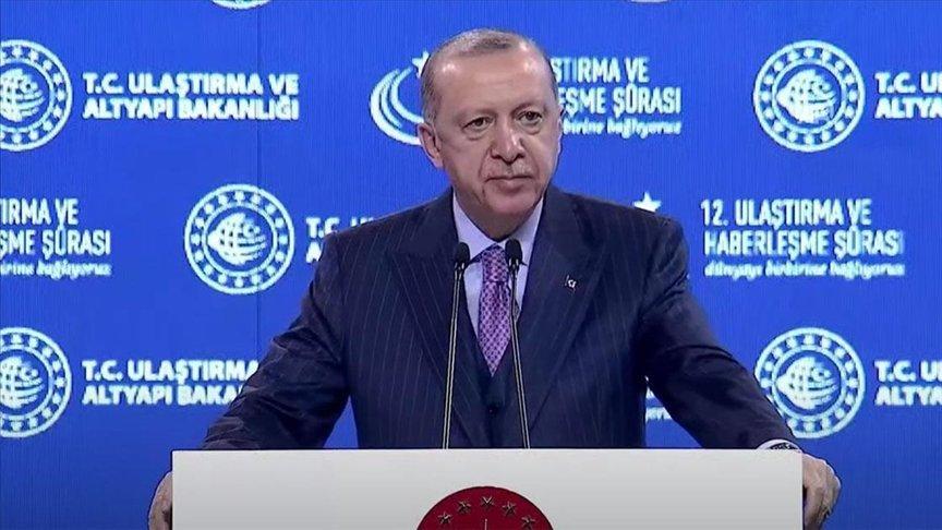 Erdoğan: Kanal İstanbul'un kazısına plana göre başlayacağız