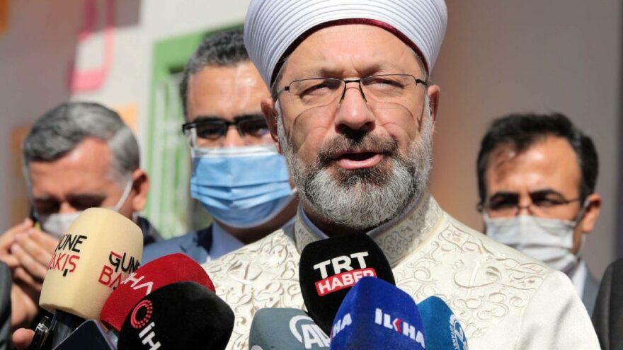 Diyanet İşleri Başkanı: İsrail mahkemesinin aldığı kararı lanetliyorum