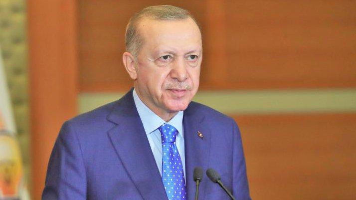 Cumhurbaşkanı Erdoğan: Almanya'da Fransa'da kuyruklar, yiyeceklerini bulamıyorlar