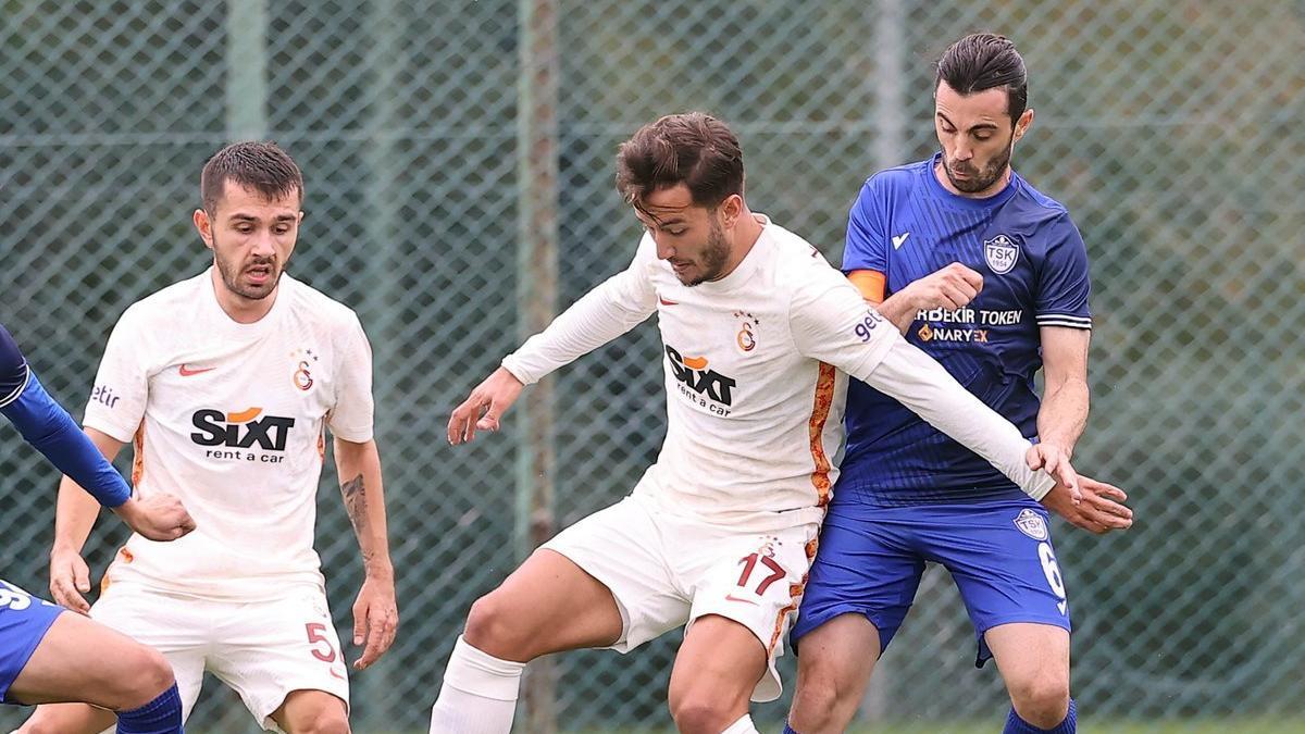 Galatasaray'dan 7 gollü hazırlık maçı