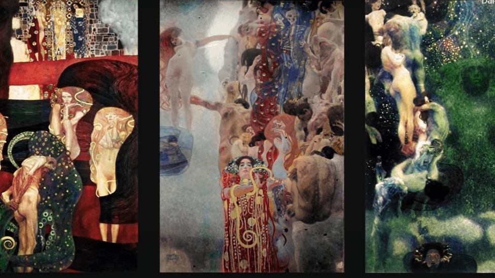 Google, İkinci Dünya Savaşı'nda kaybolan Gustav Klimt tablolarına hayat verdi