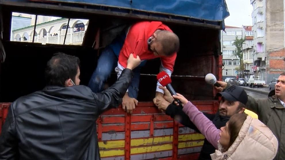 İstanbul Adliyesi'nde firar eden şüpheli böyle yakalandı