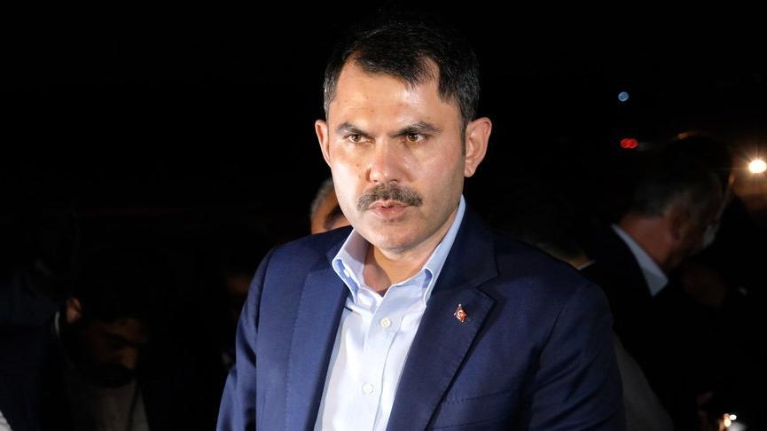 Bakan Murat Kurum: Kimse emekçi kardeşlerimiz üzerinden siyaset yapmasın
