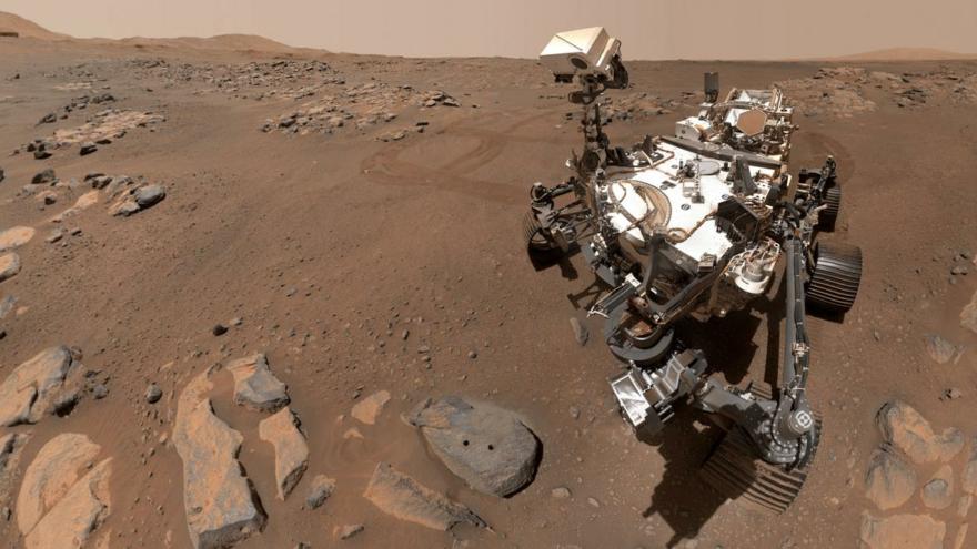 Perseverance'den gelen görüntüler, Mars'taki gizemli selleri ortaya çıkardı