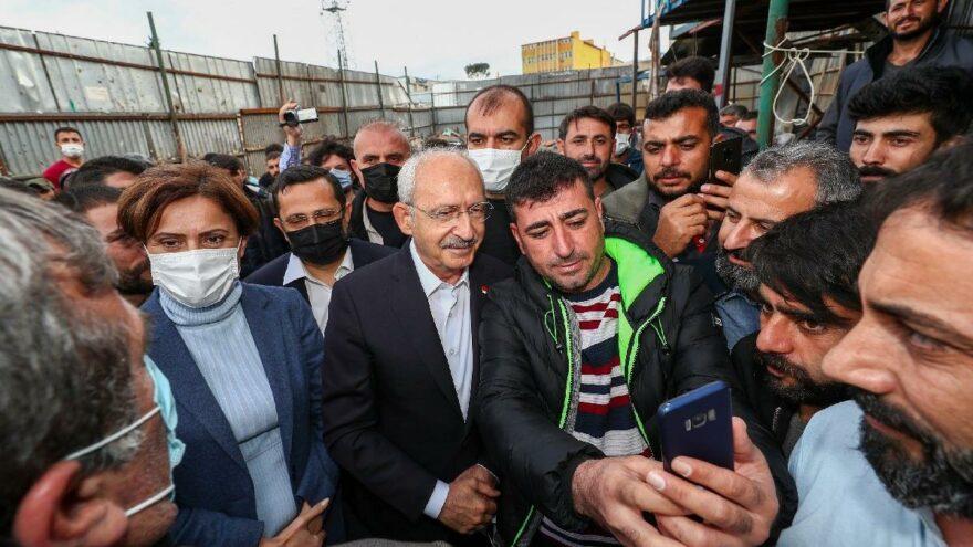 Kılıçdaroğlu: Kimsenin çöpten geçinmek zorunda olmadığı bir dünya kuracağız