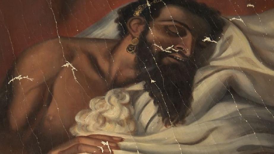 140 yıllık Yahya Peygamber tablosu, orijinal çıktı