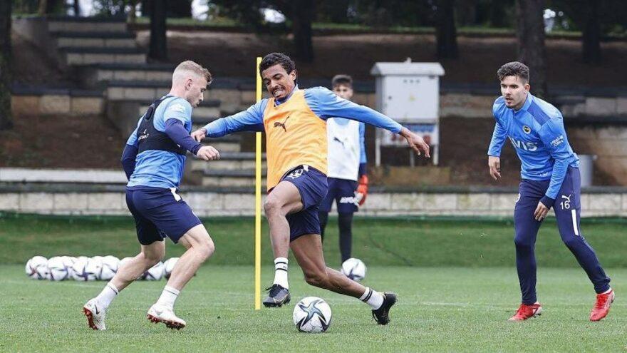 Fenerbahçe'de 3 isim takımdan ayrı çalıştı